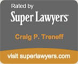 Craig Treneff super lawyers badge