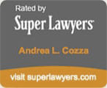 Andrea Cozza super lawyers badge
